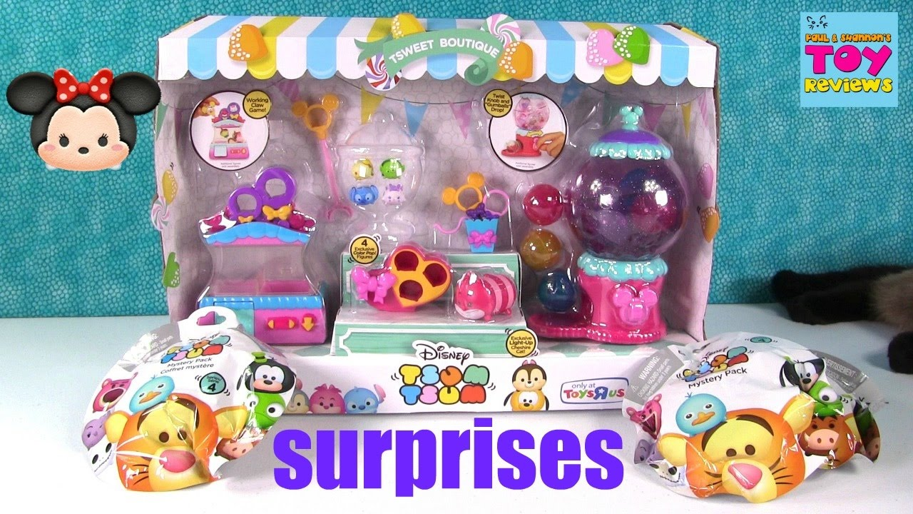 Disney Tsum Tsweet Boutique TRU Exclusive Playset Blind Bag