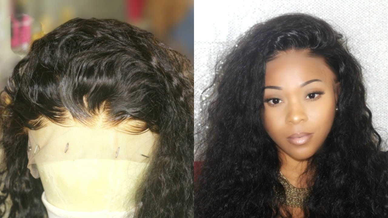 What Lace  Invisible   Real Looking 360 Lace Front Wig Install  aa9b3d5c8