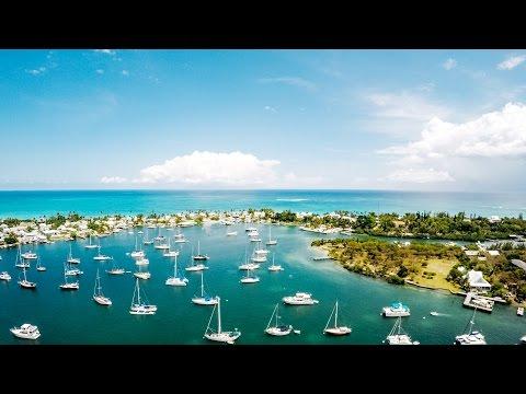 Bahamas Drone Video - Abaco Islands Hope Town Marina - DJI Phantom 2