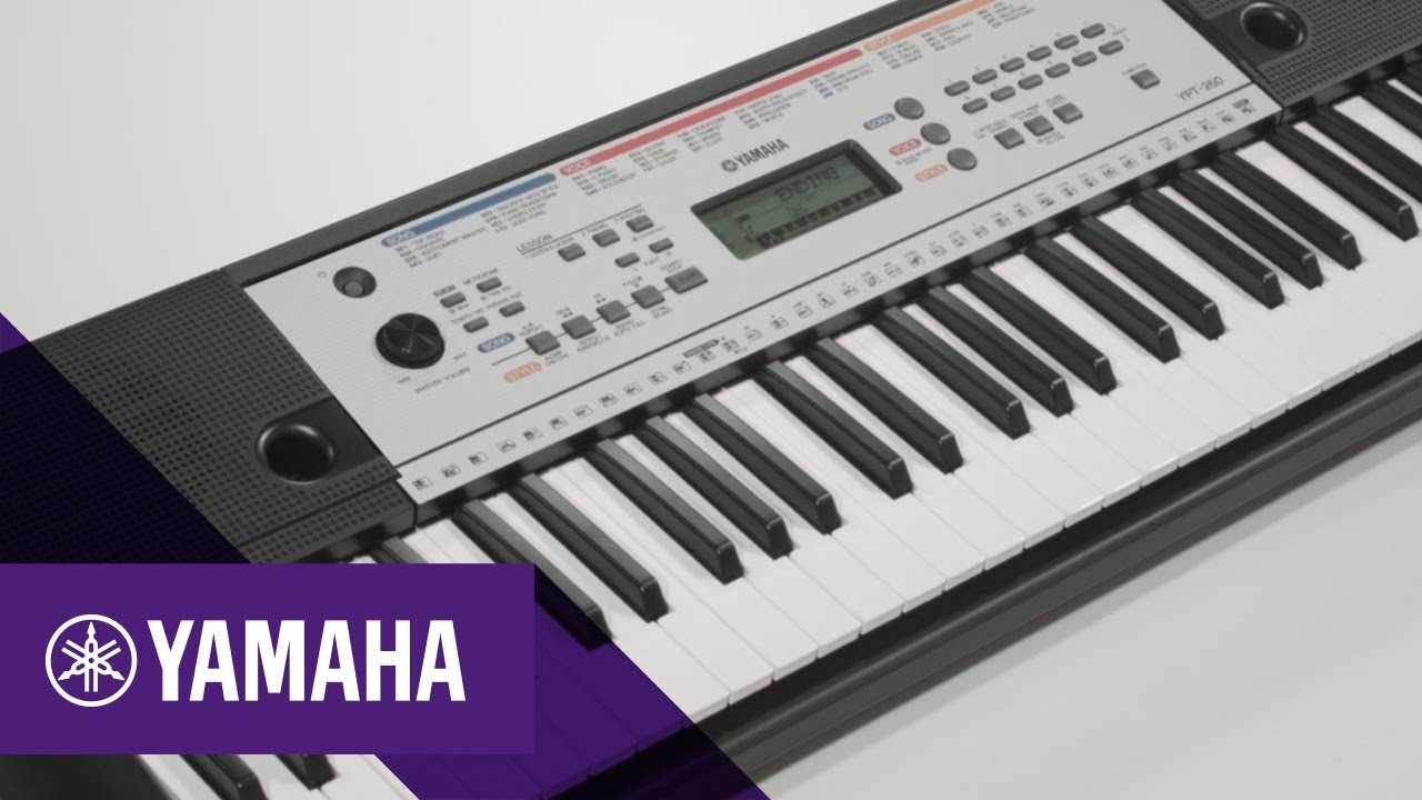 yamaha ypt 260 caracter sticas principales keyboards. Black Bedroom Furniture Sets. Home Design Ideas