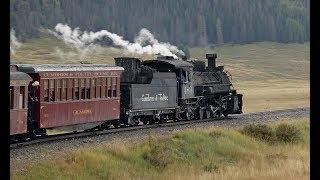 Cumbres & Toltec Scenic Railroad - Part 1 -  Chama to Osier