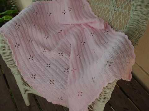 Youtube Crocheting Baby Blanket : Crochet Baby Blankets - YouTube