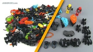 LEGO Hero Factory Invasion From Below wave 1 ALL PIECES overview!