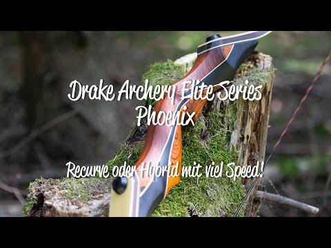 Review: Drake Archery Elite Series Phoenix - Recurve oder Hybridbogen mit viel Speed!
