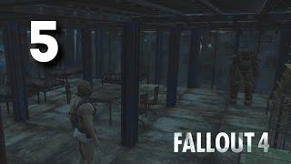 Интерьер и электричество Fallout 4 5