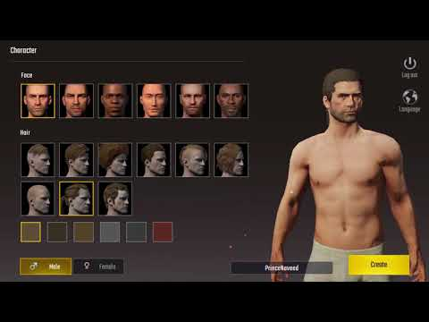 PUBG MOBILE | CHARACTER CREATION And GAMEPLAY - 2019 Latest