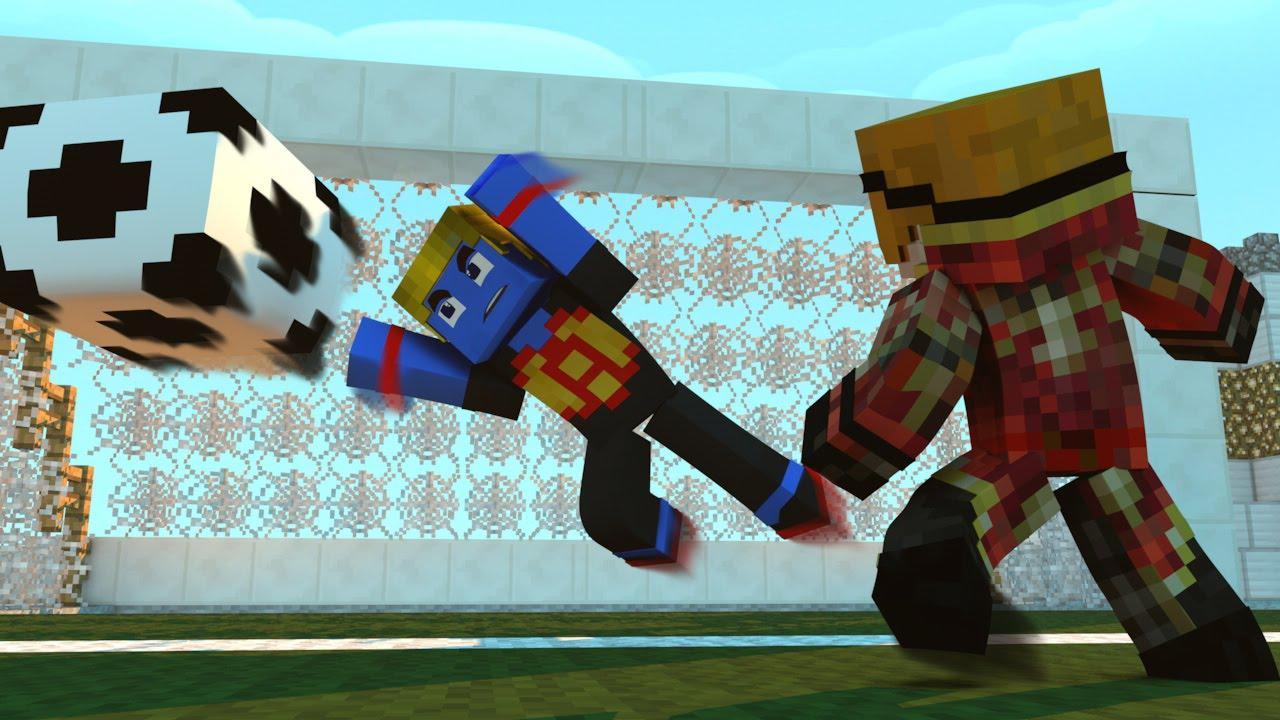 Minecraft Mod: O GOL MAIS BONITO DA HISTORIA ‹ MARATONA ESPORTIVA › #01