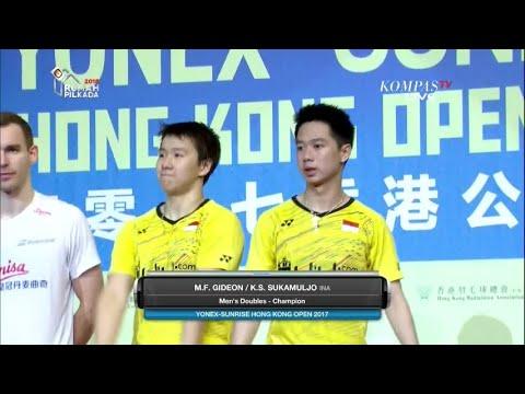 Download Kevin/Marcus Juara Hong Kong Open 2017