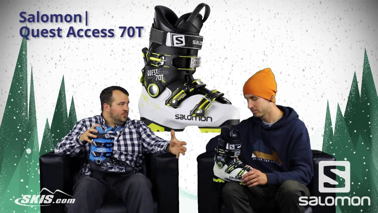 2016 Salomon Ghost 65 LC and Quest Access 70T Youth Boot Overview by SkisDotCom
