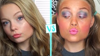 Child You Vs. Teen You School Makeup Routine!