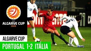 Algarve Cup Portugal 1 2 Itália