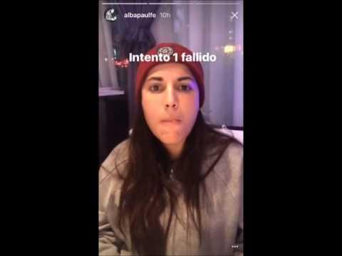 Snapchat Alba Paúl en restaurante de Shanghai - (7/12/2016)