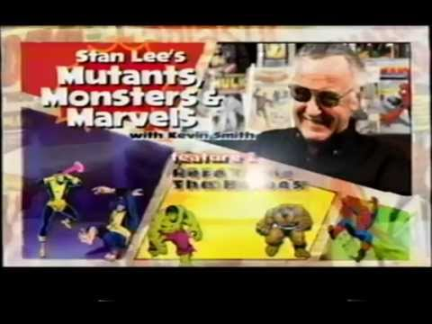 Stan Lee S Mutants Monsters Marvels 2002 Promo Vhs Capture