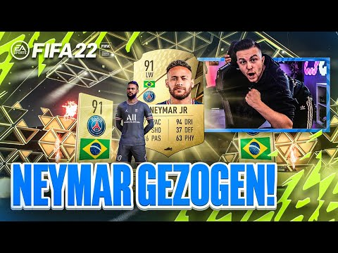 OMG! ICH ZIEHE NEYMAR im PACK 😍 FIFA 22: PACK LUCK im Best Of Pack Opening 🔥😍