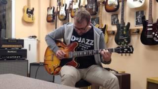 65er Gibson ES 335 über Real Guitars RG 80 Head