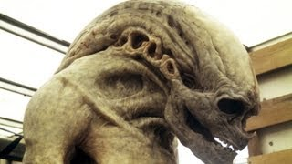 Alien Newborn Death- Behind the Scenes Tests, Skull Shattering and Spilling Guts