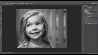 My favorite vignette technique using Photoshop