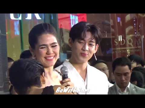 GOT7 BAMBAM - Cute Moments at RESTIER GRAND OPENING IN THAILAND ( 20180523 )