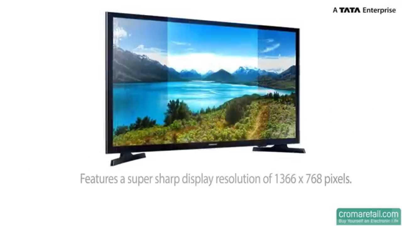 Samsung 32j4003 32 Flat Hd Led Tv Youtube