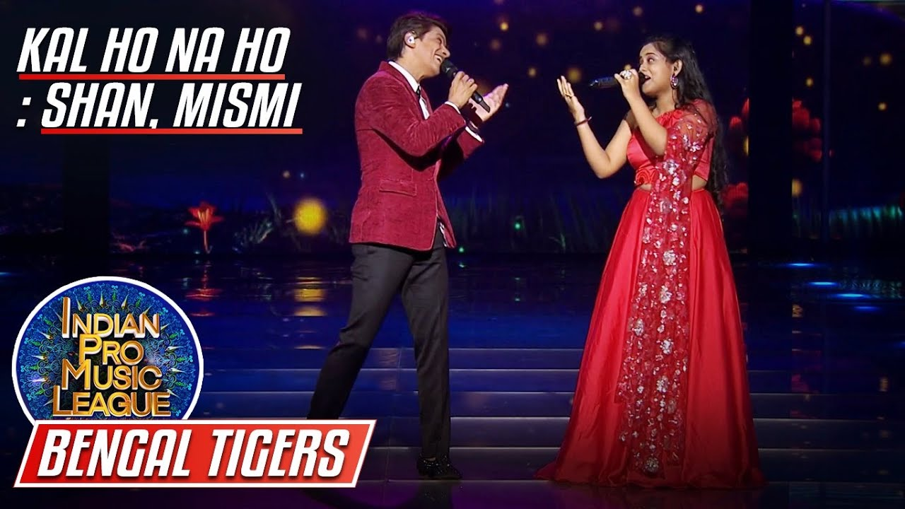 Beautiful Performance by Shaan, Mismi Bose, Kal Ho Na Ho, Indian Pro Music League
