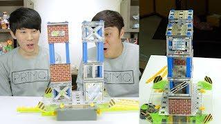 지진에 대한 경각심을 교육해주는 장난감 AFTERSHOCK Earthquake Lab