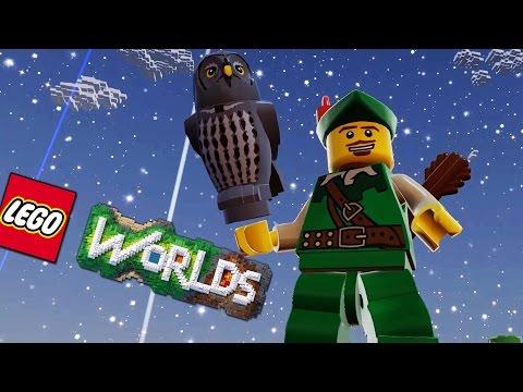 ROBIN HOOD I JEGO SOWA | #02 | LEGO WORLDS | Admiros /w Hadesiak