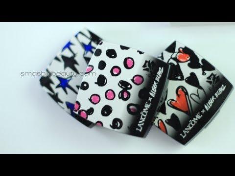 Unboxing GOODIE BAG Lancome & Lancome Alber Elbaz Makeup Collection Beauty Event