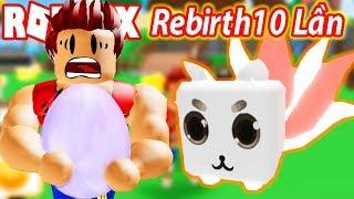Roblox - Código M'i Actualización Rebirth 10 V' Con Pet Monster Fox Legendary ? Simulador de Rancho de Mascotas