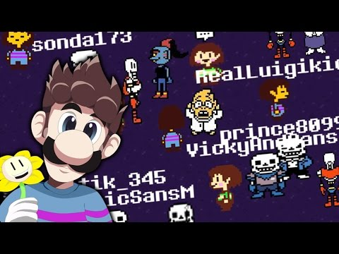 UNDERTALE MMO?! - DON'T FORGET (UNDERTALE MULTIPLAYER DEMO)