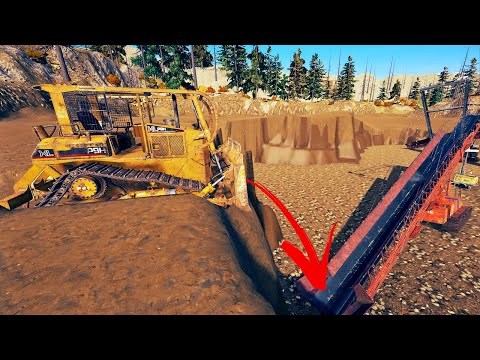 Is This The Best Way To Extract Gold? - Deep Pit Gold Mining - Gold Rush