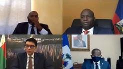 🔴 Echanges entre le President Haitien Jovenel Moise et son Homologue au Madagascar Andry Rajoelina