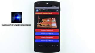 Android Apps Emergency Sirens Sound Effects