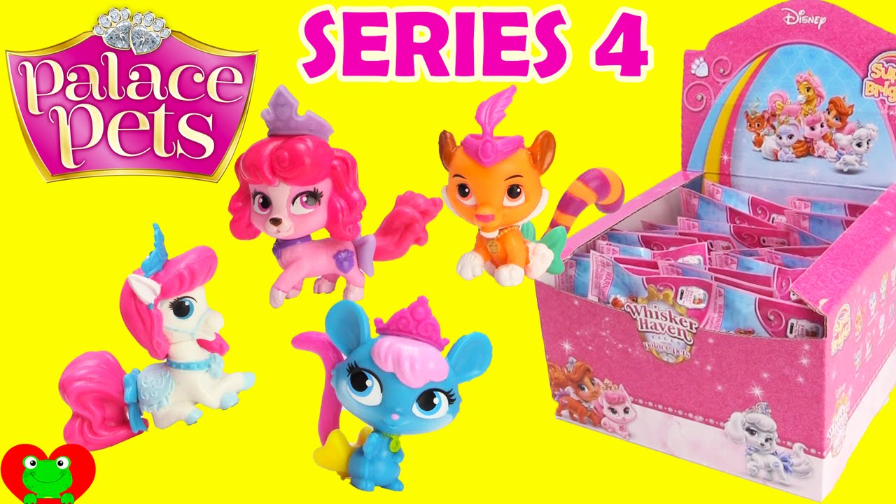 215ed24c5e9 Palace Pets Blind Bags Disney Princess Whisker Haven Pets Series 4 Toy  Genie - YouTube