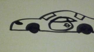 Chevrolet COPO Camaro drawing