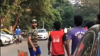 Rohit sharma playing gully cricket in India HD 2018