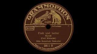 """""""Froh und heiter"""" (Michalski) Otto Kermbach 1938"""