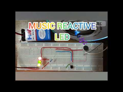 Arduino Music Reactive Led Strip - Myhiton