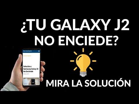 Qué Hacer si tu Samsung Galaxy J2 No Enciende