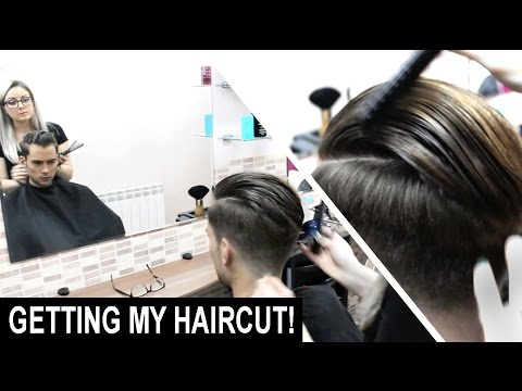 Disconnected Skin Faded Haircut + Slick Back Hairstyle | Men's Hair | My Hairstyles | Ruben Ramos