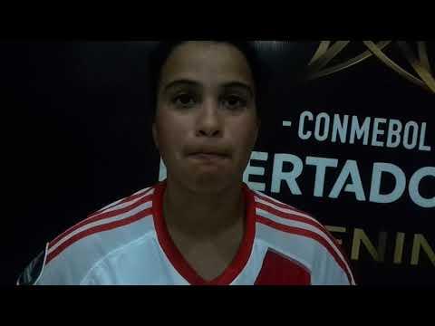 Maria Birizamberri - River Plate 2 - Cerro Porteño 1 - Libertadores Femenina