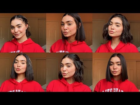 CURRENT FAVORITE GO TO HAIRSTYLES FOR SHORT HAIR 2019