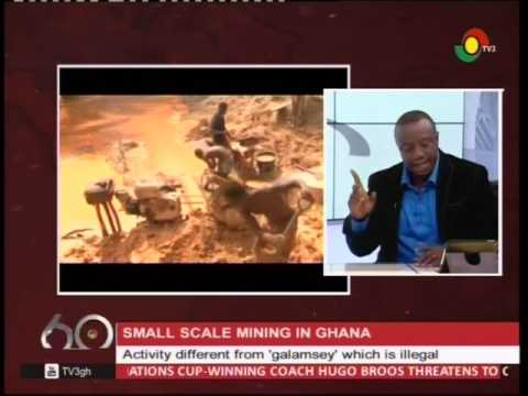 Small scale mining is different from 'galamsey' - 29/3/2017
