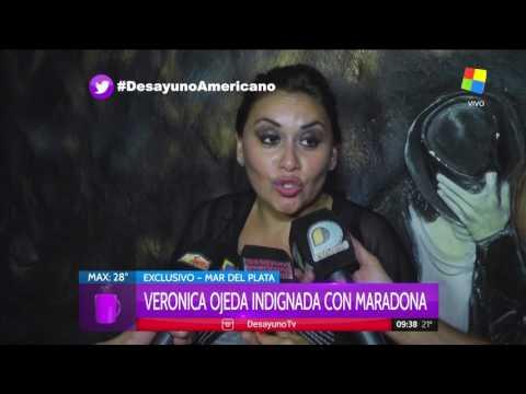 El acuerdo judicial de Verónica Ojeda y Diego Armando Maradona
