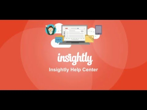 Insightly Help Center Tour