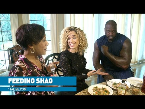 What it takes to feed NBA giant Shaq