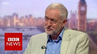 Jeremy Corbyn 'disappointed' over Eagle leadership bid - BBC News