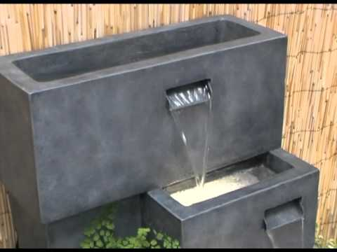 Higgledy Troughs Water Feature And Planter Youtube