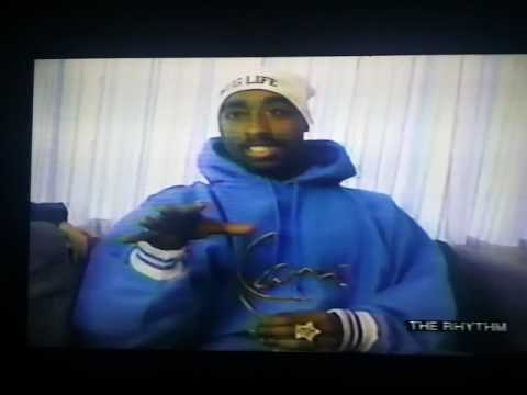 2pac RARE The Rhythm interview talking about Treach, Holler if Ya Hear Me, & crooked cops