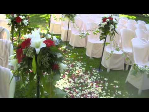 Arreglo floral para bodas youtube - Como hacer una boda diferente ...