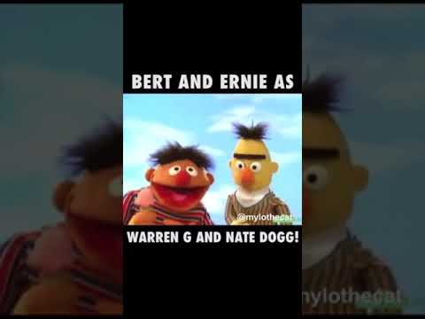 Sesame Street does Warren G. and Nate Dogg